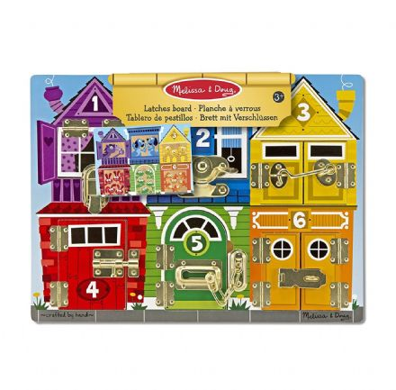 Melissa & Doug Latches Board Game